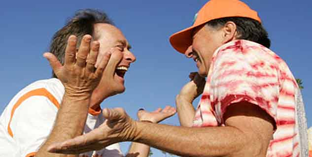 Laughter Stimulates Better Exercise Habits in Older Adults