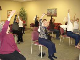 Chair yoga helps your osteoarthritis for Chair yoga benefits