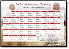 active lifestyle stannah calendar